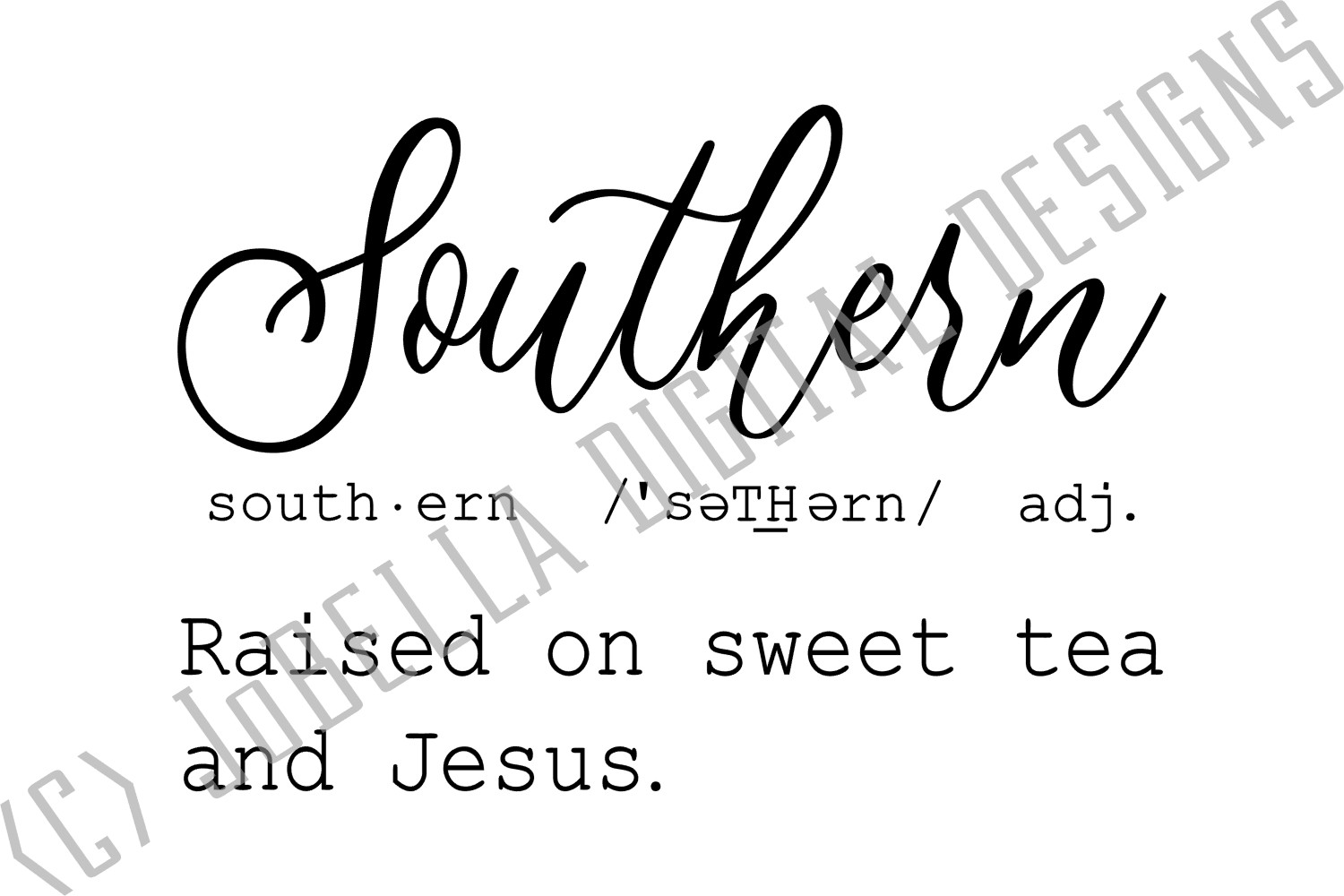 Funny Southern Svg And Printable Jobella Digital Designs