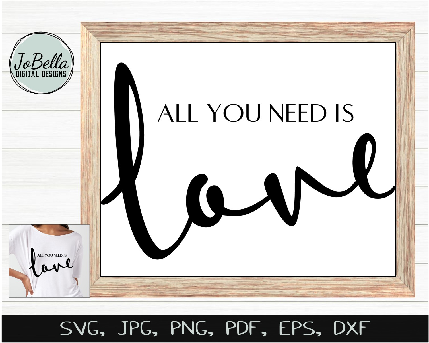 Beatles All You Need Is Love Svg And Printable Jobella Digital Designs